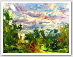 Award Winning Impressionist Artist's Artwork
